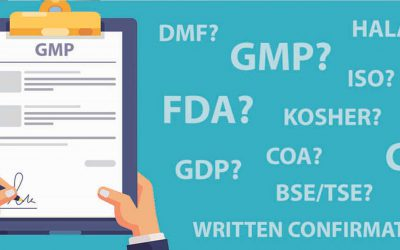 What is the difference between GMP, FDA, DMF and CEP?